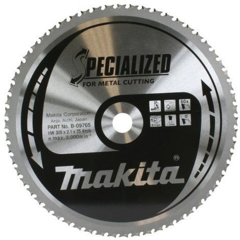 Makita Lame de scie circulaire à 60 dents 305 x 25,4mm