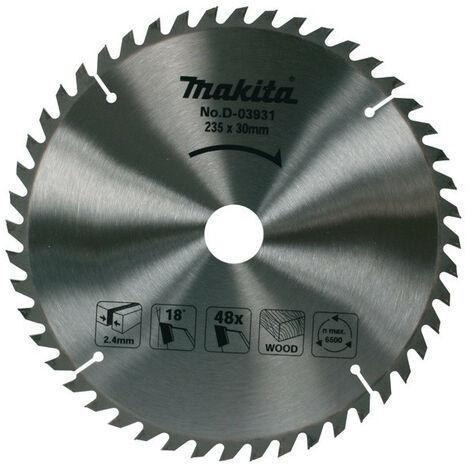 Makita - Lame de scie circulaire carbure 235mm 48 dents - D-03931