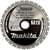 Makita lame scie circulaire Ø 136 mm métal - b-10615