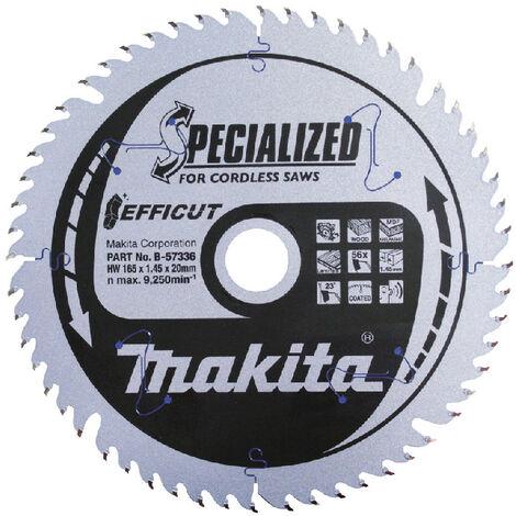 Makita Lame ''Specialized'', pour scies circulaires 165x20x56D - B-57336