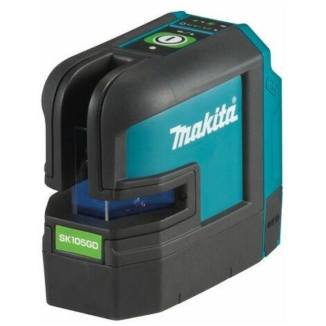 Makita Laser croix, vert, 12V max, 35 m, sans batterie et chargeur - SK105GDZ