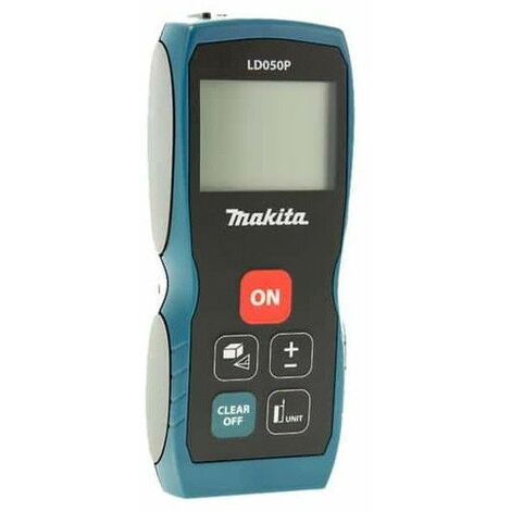 MAKITA LD050P - Medidor laser distancia 50 m laser ii ip54 5 memorias 3 lineas en pantalla