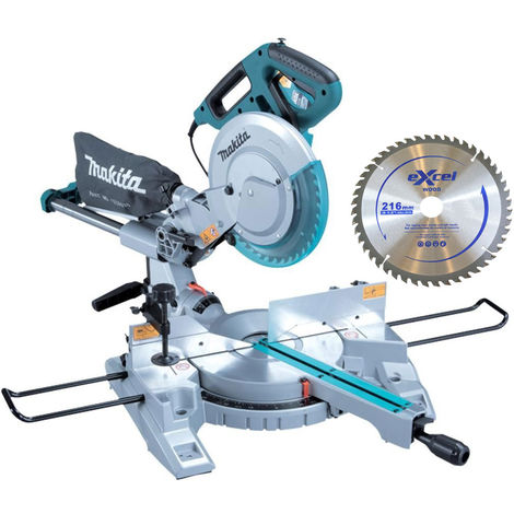 Makita LS0815FLN 110V 216mm Slide Compound Mitre Saw Laser Guide with Blade:110V