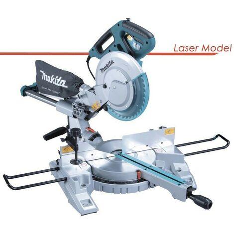 """Makita LS1018L 260mm 10"""" Slide Compound Mitre Saw 110v Laser MPN Inc Blade"""