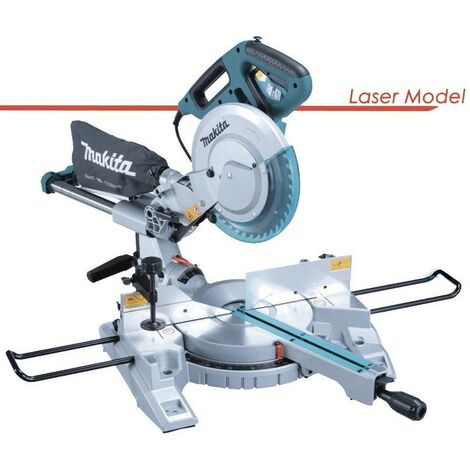 "Makita LS1018L 260mm 10"" Slide Compound Mitre Saw 240V Laser MPN Inc Blade"