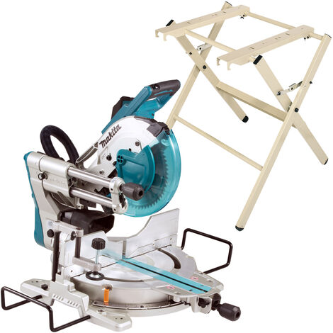 Makita LS1019X3 240V 260mm Slide Compound Mitre Saw With Stand