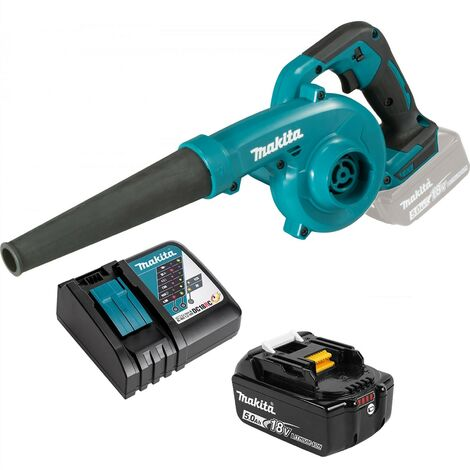 Makita LXT 18v DUB185RT Garden Leaf Blower Li-Ion + Nozzle + Battery + Charger