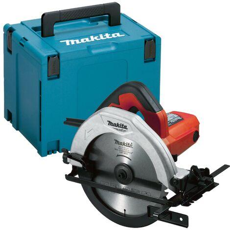 "main image of ""Makita M5802J 240v Corded Circular Saw 190mm 1050w M5802 + Makpac Case + Blade"""
