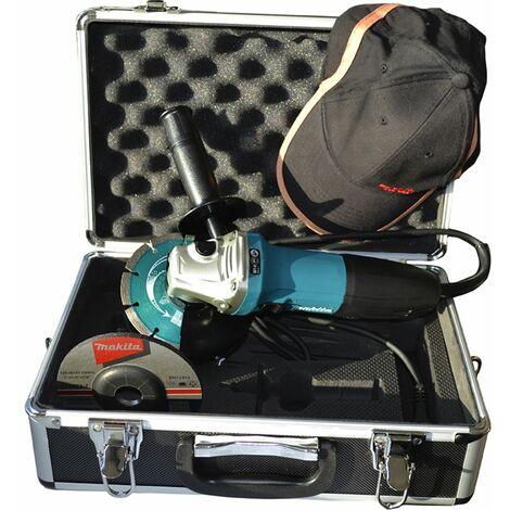 MAKITA Meuleuse d'angle diam?tre 125 mm GA5030RSP1 + accessoires 720 watts