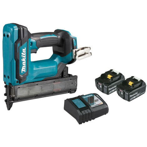 Makita Nailer - 2 Batteries BL1850B 5.0Ah - 1 DC18RC DFN350RTJ quick charger