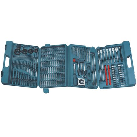 Makita P-44046 216 Piece Complete Drill and Bit Set