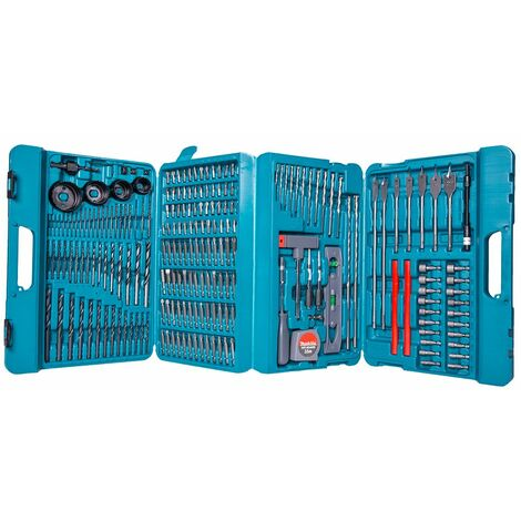 """main image of """"Makita P-44046 Complete Drill And Bit Set 216 Pieces"""""""