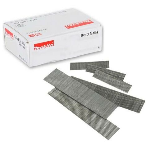 Makita P-45967 50mm 18 Gauge Brad Nails Box of 5000 for AF505 Air Nailer