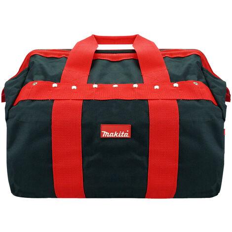 "Makita P-46305 Tradesmans Hold-All Tool Bag Black/Red 16"""