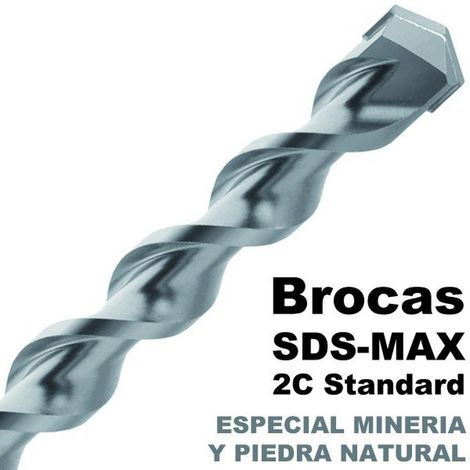 MAKITA P-70904 - Broca para hormigon sds-max 2c standard 40x570 mm