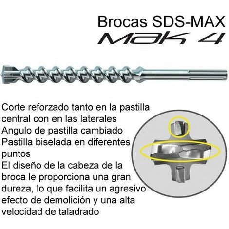 MAKITA P-77883 - foret sds-max mak4 22x1320mm