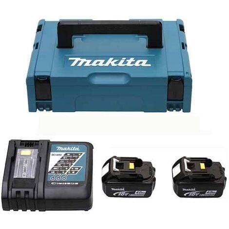 makita pack 2 batteries 18v 4ah chargeur dc18rc 196866 5. Black Bedroom Furniture Sets. Home Design Ideas