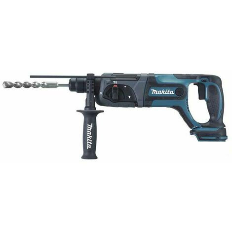 Makita - Perfo-burineur SDS-Plus 18 V Li-Ion 24 mm sans batterie ni chargeur - DHR241Z - TNT
