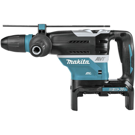 Makita - Perforateur burineur SDS-Max 36 V (2 x 18 V) Li-Ion Ø 40 mm 8 J sans batterie ni chargeur - DHR400ZKU - TNT