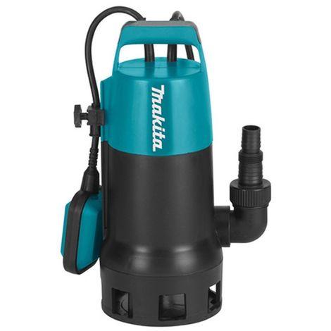 MAKITA PF1010 - Bomba sumergible 1100w aguas sucias capacidad de 240 litros por minutos