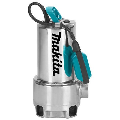 MAKITA PF1110 - Bomba sumergible 1100w aguas sucias acero inoxidable