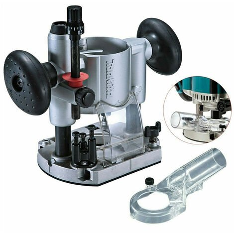 """main image of """"Makita Plunge Router Trimmer Base RT0700 DRT50 + Dust Extraction Nozzle 194733-8"""""""
