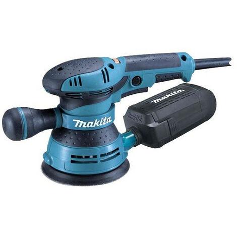 Makita - Ponceuse excentrique 300W Ø125mm (aspiration intégrée) - BO5041