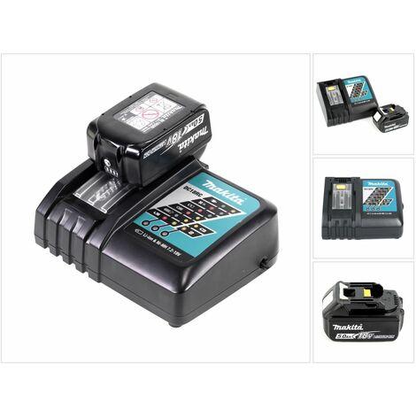 Makita Power-Set con Cargador DC18RC + 1x Batería BL 1850 5,0 Ah