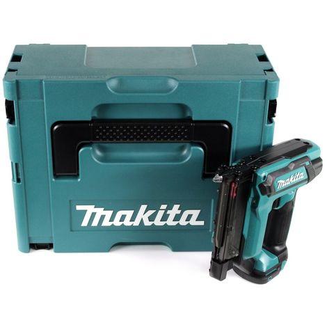 Makita PT 354 DZJ 10,8 V Cloueur sans fil avec coffret Makpac + sans Batterie ni Chargeur