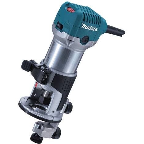 """Makita RT0700CX4 1/4"""" Router /Laminate Trimmer with Trimmer Guide 240V"""