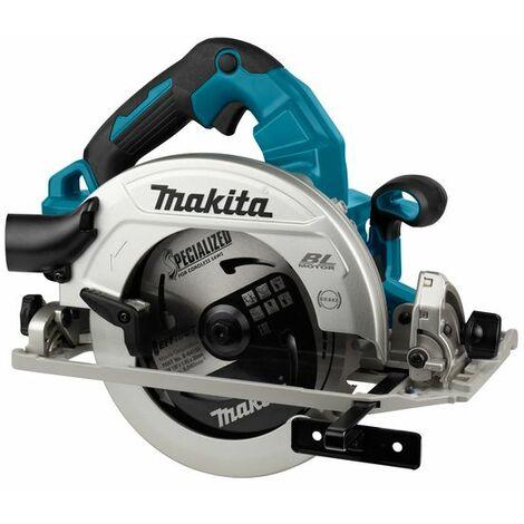 Makita Scie circulaire 2x18 V avec Bluetooth, sans batterie et chargeur - DHS783ZJU