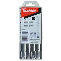 Makita SDS-Plus Hammerbohrersatz VPLUS 5 tlg. B-49052 5 / 6 / 6 / 8 / 8 mm
