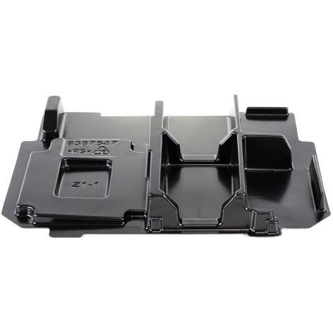 Makita Sistema interior de maletín Makpac para Cargador DC 18 RC y hasta 4x Baterías Makita ( 838754-7 )