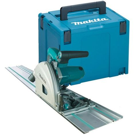Makita SP6000J1 110V 165mm Plunge Saw with 1.5m Guide Rail & Mac Case