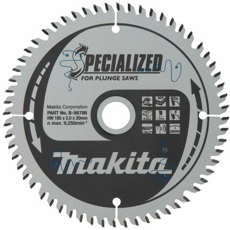Makita SPECIALIZED Lame 165x20x60D - B-56786