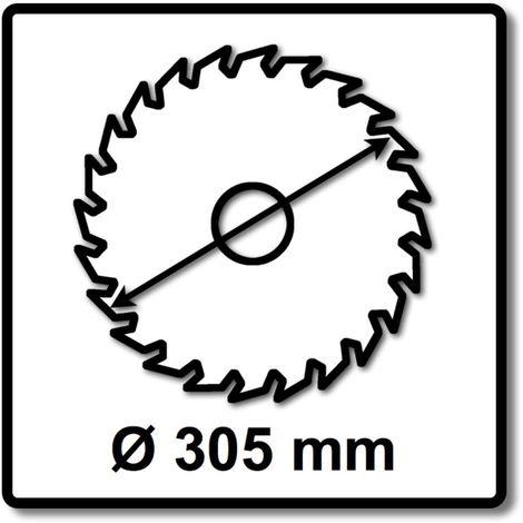 Makita SPECIALIZED Lame de scie métal 305 x 25,4 x 2,3 mm - 78 dents ( B-33467 ) pour Tronçonneuse à métaux Makita LC 1230