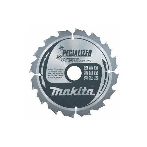 Makita SPECIALIZED Lames pour scies circulaires 190x30x40D - B-33180