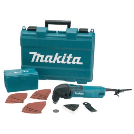Makita TM3000CX4 240v Multi-Tool c/w 37 Acc