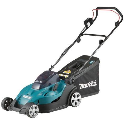 Makita Tondeuse à batterie 2x18 V / 4,0 Ah, 2 Batterie + Chargeur double - DLM380PM2
