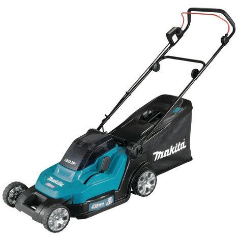Makita Tondeuse à gazon 2x18V, sans batterie et chargeur - DLM432Z