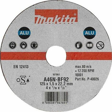 Makita Trennscheibe 125 x 1,5 mm ALU - P-40026-10