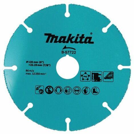 Makita Trennscheibe, 125mm, Universal - B-57722