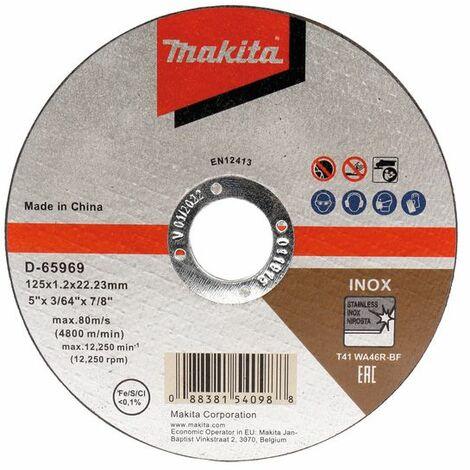 Makita Trennscheibe 125x1,2mm INOX - D-65969-12