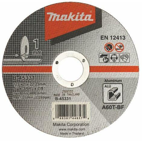 Makita Trennscheibe 125x1mm Alu - B-45331