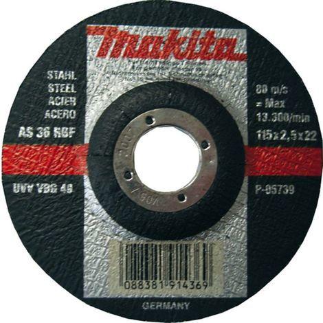 MAKITA TRENNSCHEIBE 125x2.5mm STAHL (P-05745)