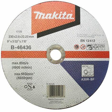 Makita Trennscheibe 230x2,5mm Stahl - B-46436