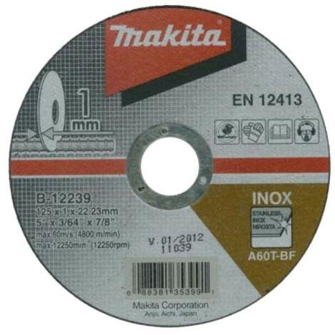 MAKITA Trennscheiben für Schleifmaschinen - 125mm - B-12239