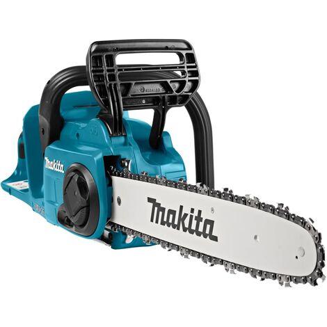 """main image of """"Makita Tronçonneuse sur batterie 350 mm 2x18/36 V Bleu et noir"""""""