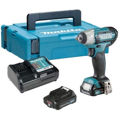 Makita TW140DWAE 12vmax 2x2.0Ah Li-ion 3/8in CXT Impact Wrench
