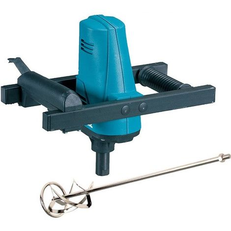 Makita UT1200/1 110V Paddle Mixer Up To 30Kg with Mixing Paddle